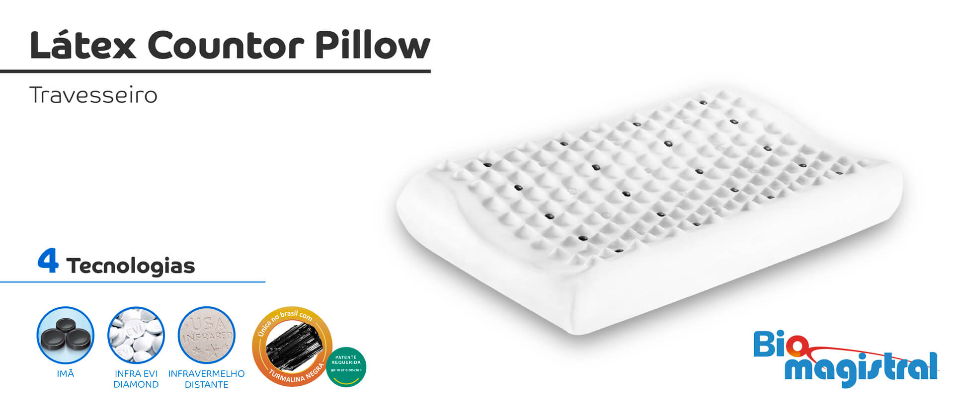 Látex Countor Pillow